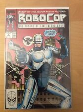 ROBOCOP II OFFICIAL ADAPTATION, 1 2 3 [SET], & ROBOCOP 1, 1ST PRINTS