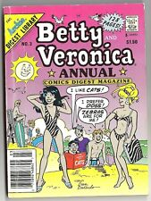 ARCHIE Digest Library, Betty and Veronica Annual Comics Digest #3, Sept. 1990