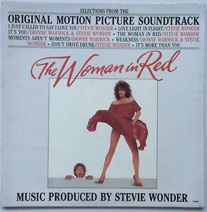 STEVIE WONDER/DIONNE WARWICK The Woman In Red OST 1984 OZ Motown VG+/EX