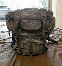 USGI MOLLE II Large Field Backpack with Frame & 2 Sustainment Pouches