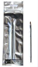 24 x S.T.Y. Designs Lip Brush   15cm Long   Foil Packaged   Wholesale Cosmetics