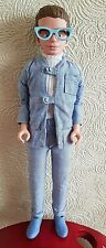 Year 2000 Gerry Anderson's Thunderbirds - Brains 12 inch Talking Action Figure