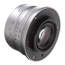 Manual Focus 25mm F/1.8 Prime Camera Lens For Panasonic Micro 4/3 G1, G2, G3 G6