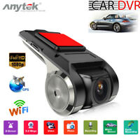 Anytek X28 Dashcam KFZ Car DVR Full HD 1080P Video Bewegungssensor Wifi GPS ADAS