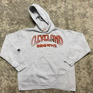 vintage cleveland browns nutmeg hoodie