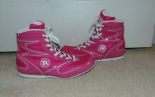 Ringside Women's pink boxing shoes size 8