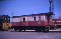 CWP&S Chicago West Pullman & Southern Railroad Caboose Original 1968 Photo Slide