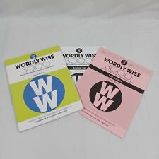 Wordly Wise 3000® 4th Edition Grade 3 SET - Student Book, Test Booklet & Answers