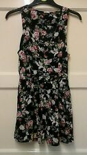 WOMENS SHORTS PLAYSUIT FLOWER DESIGN SIZE 8 MISO OFFERS WELCOME.