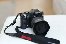 Pentax k-m Digital SLR Camera + 18-55mm lens, lens hood and Hoya filter