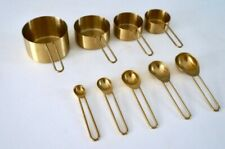 Gold Measuring Cups & Spoons