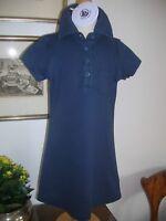 Mädchenkleid f.4 Jhr., sportlich,blau, Petit Bateau
