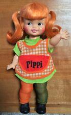 """Vintage1972 Horsman PIPPI LONGSTOCKING 11"""" Doll Complete ~SWEET & EXCELLENT!"""