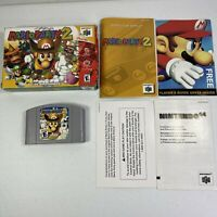 Mario Party 2 Nintendo 64 Complete Tested Works N64 #0978