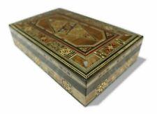 Boîte à Bijoux Coffret en Bois,Boîte,Cases,Mosaïque Artisanat Damaskunst K2-3-49