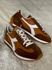 diadora heritage equipe Womens 7.5 Brown Sneakers Leather Suede EUR 40.5 Rally