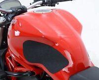 R&G Black Tank Traction Grips for Ducati Monster 1100/EVO/1200 S - EZRG214BL