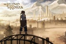 The Legend of Korra video game poster 24 x 36""