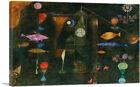 ARTCANVAS Fish Magic 1925 Canvas Art Print by Paul Klee
