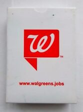 Walgreens Playing Cards sealed advertising promo, brand new, tokens , magic