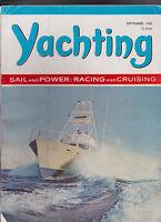 Yachting Magazine Mackinacs Aegean Rally  September 1966 Free US S/H