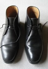 Russell & Bromley mens laced ankle boots black size 6