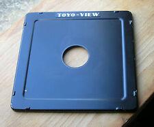 Toyo monorail  5x4 10x8  sheet metal lens board copal 0  34.7mm hole
