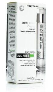 Frezyderm Matte Effect Moisturizing Face Cream For Oily Skin Anti Shining Action