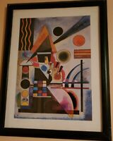 Custom Framed Swinging by Wassily Kandinsky