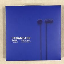 New Sealed Urbanears Bagis Noise Isolating In-Ear Stereo Headphones Cobalt Blue