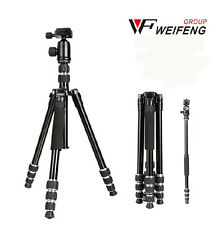 Fancier weifeng WF-6610 travelling Professional Tripod unipod + Ball Head +bag