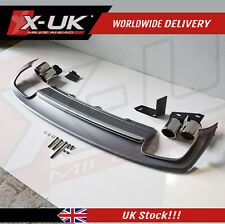 "Rear diffuser for Audi A4 B8.5 S-Line 2013-2015 ""S4 style"" fits Sedan / Saloon"