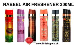 Genuine Nabeel Air Freshener Nabeel, Touch Me, Black Arabian Incense Spray 300ml