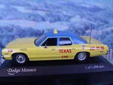 1/43   Minichamps Dodge Monaco Taxi 1974 1 of 1008