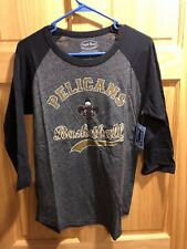NBA New Orleans Pelicans #0 Cousins Triblend 3/4 Sleeve Women's T-Shirt XL