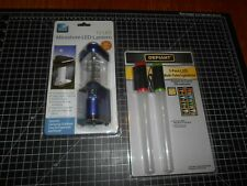 New In Package Miniature 12 LED Lantern & 2-Pack LED Multi-Color Lightsticks