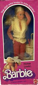👀1982 Mattel Horse Lovin' Barbie Doll 1757 New Sealed Damage Read!!! Super Star