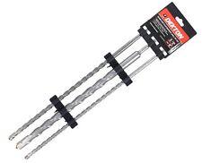 Dekton 3 SDS Plus punte trapano martello 12 mm 16 mm & 24 mm x 450 mm MURATURA & CALCESTRUZZO
