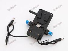 V-Lock V Mount Battery Plate 15mm Rod Clamp for Bmd Blackmagic Ursa Bmcc Bmpcc