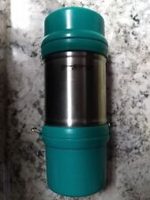 Eddie Bauer High Quality Stainless Steel Teal Color 12 Oz Travel Thermos Mug!