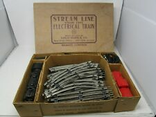 "Vintage Marx Marlines *STREAM LINE STEAM TYPE ELECTRICAL TRAIN WITH BOX* ""O"""