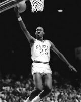 1987 Kansas Jayhawks DANNY MANNING Glossy 8x10 Photo College Basketball Print