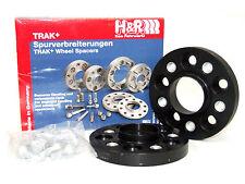 H&R 20mm DRA Bolt-On Wheel Spacers BMW (5x120/72.5/12x1.5/Black)