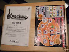 PRIDE GP 2003  CAPCOM JAPANESE   video game manual with instructions