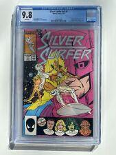 CGC 9.8 SILVER SURFER #1 v3 (1987) GALACTUS COVER ORIGIN OF SILVER SURFER WP