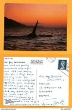 UK  POSTCARD  STAMP ORCINUS ORCA - WHALE