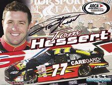 "SIGNED 2014 TOM HESSERT ""CARE GARD"" #77 NON NASCAR ARCA SERIES POSTCARD"