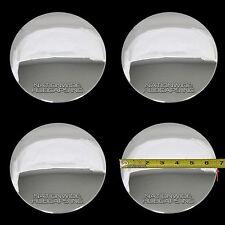 4 Eldorado Deville DTS Chrome Wheel Center Hub Caps 5 Lug Bolt Rim Cover Hubs C