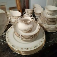 Vintage, Royal Doulton China Mandalay Dinnerware partial dinner set 43 pieces