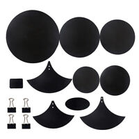 14Pcs Bass Snare Drum Sound Off Mute Silencer Drumming Rubber Practice Pad Kit